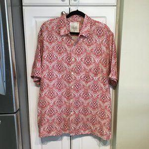 Tasso Elba Island Short Sleeve Button Up Shirt